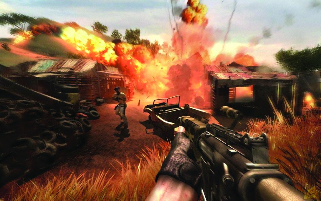 Great Moments In Pc Gaming Watching Fire Spread In Far Cry 2 Pc