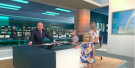 Adorable Toddler Takes Over Live News Broadcast, Chaos Reigns
