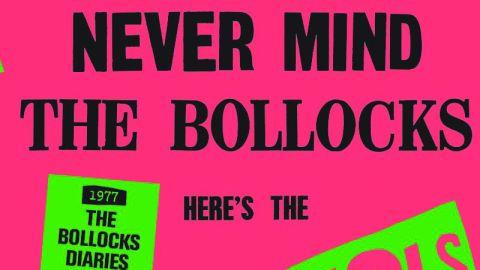 Cover art Sex Pistols 1977 – The Bollocks Diaries