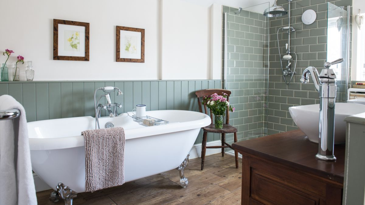 How to create a stylish bathroom on a budget | Real Homes