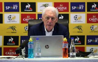 Bafana Bafana coach Hugo Broos