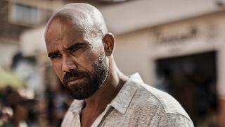 """Daniel """"Hondo"""" Harrelson (Shemar Moore) looks ahead on S.W.A.T. (2021)"""