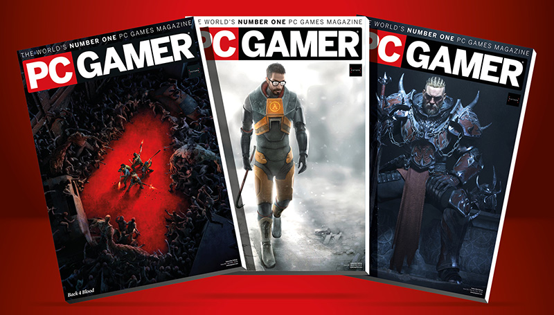 Get 5 issues of PC Gamer magazine for $5/£5 in the Spring Sale