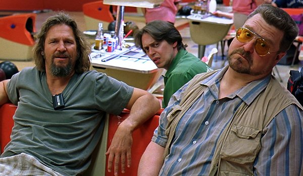 The Big Lebowski The Dude, Donny, and Walter listen to Jesus taunt them
