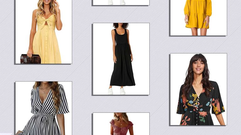 A selection of the best summer dresses on amazon