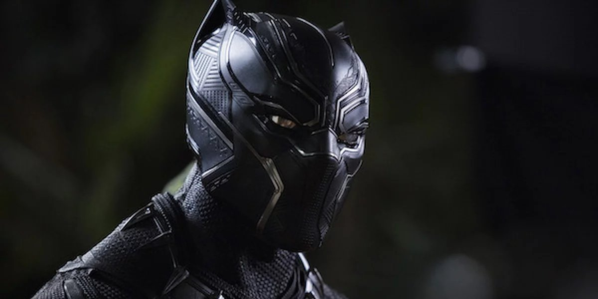 Chadwick Boseman as T'Challa in the Oscar-winning Black Panther