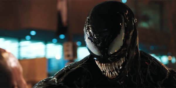 Venom in the trailer