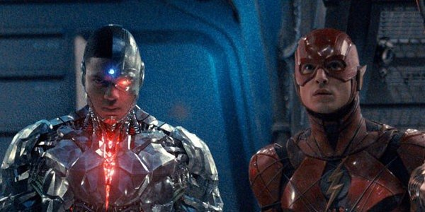 Flash and Cyborg in Justice League