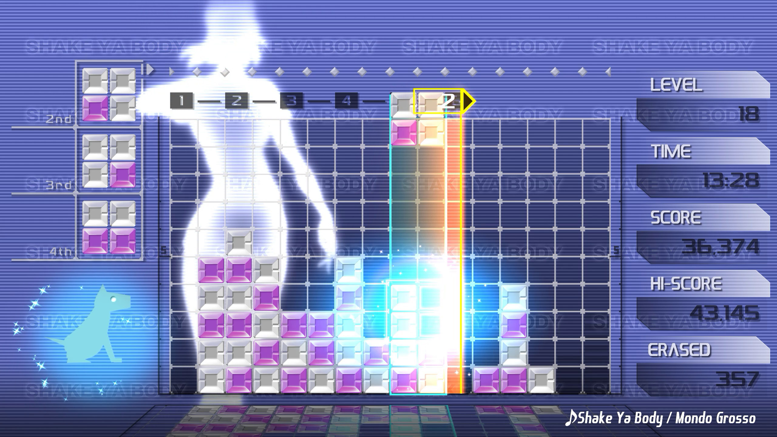 Best PC games: Lumines Remastered
