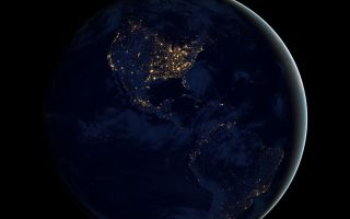 City Lights of the Americas