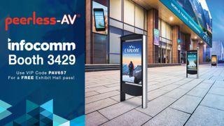 Peerless-AV InfoComm 2019 Booth 3429