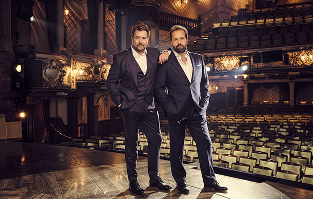 Alfie Boe and Michael Ball ITV Christmas 2019