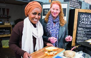 Nadiya Hussain's in the Peak District in this second episode of her new series, spicing up more British classics and learning all about the food we know and love.