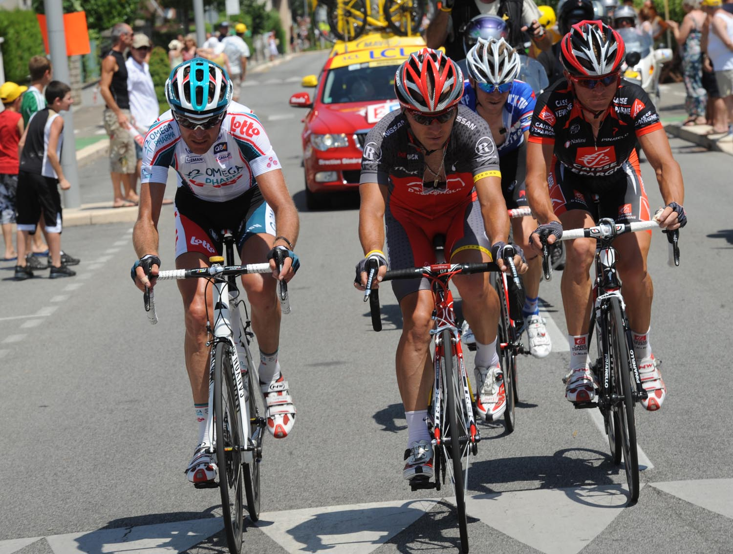 Sergio Paulinho escape, Tour de France 2010, stage 10