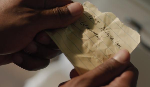true detective julie's address wayne's note