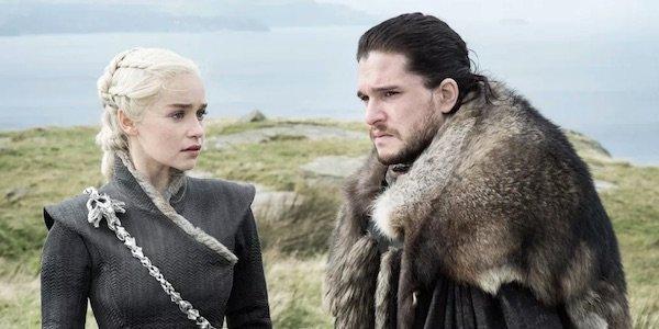 Dany and Jon in Season 7