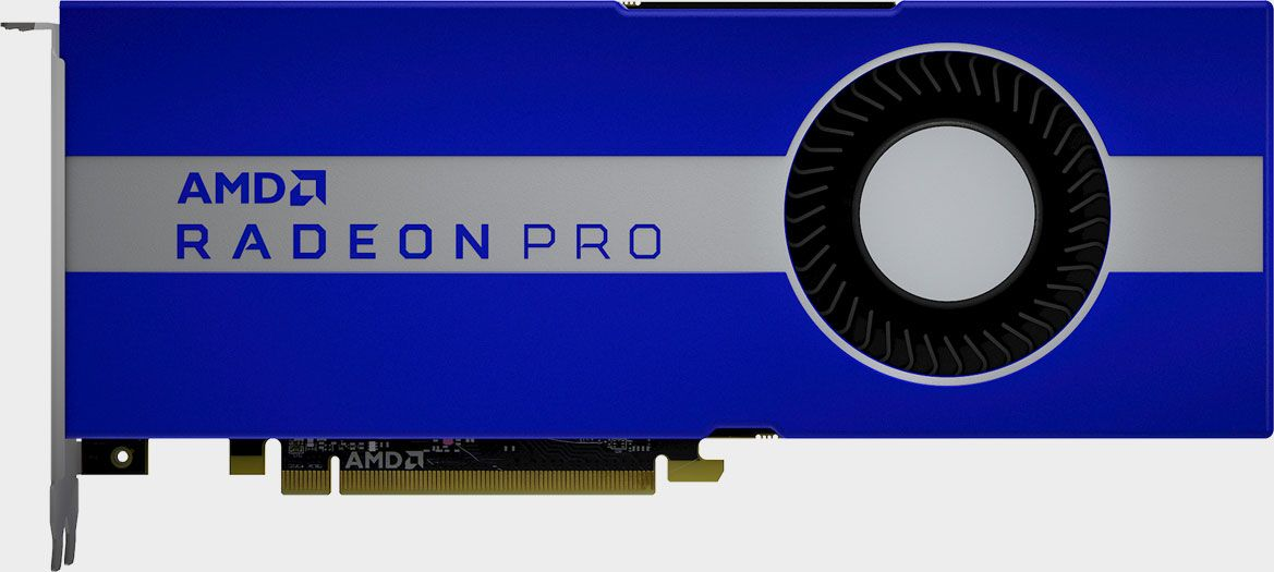 Radeon Pro W5700 expands Navi's reach from playing games to making them
