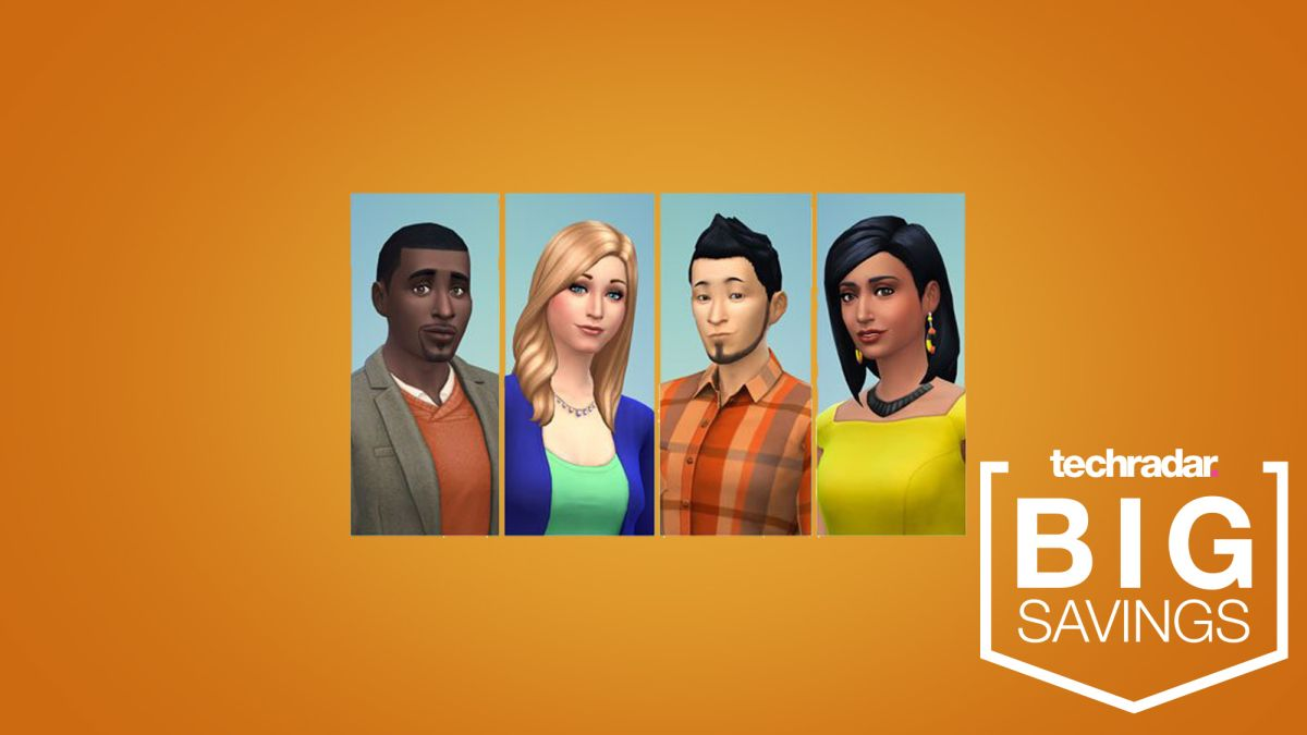 The Sims 4 is 75% off, so you can digitally continue living your life