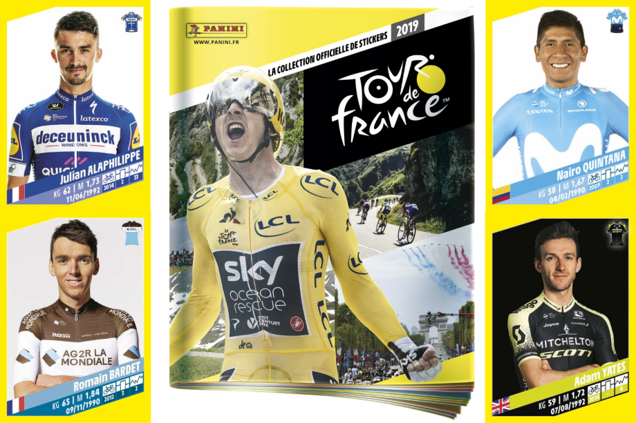 Tour de France announces new Panini sticker album for 2019