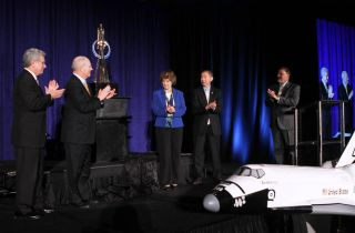 Space Foundation board members at the 27th National Space Symposium in 2011.