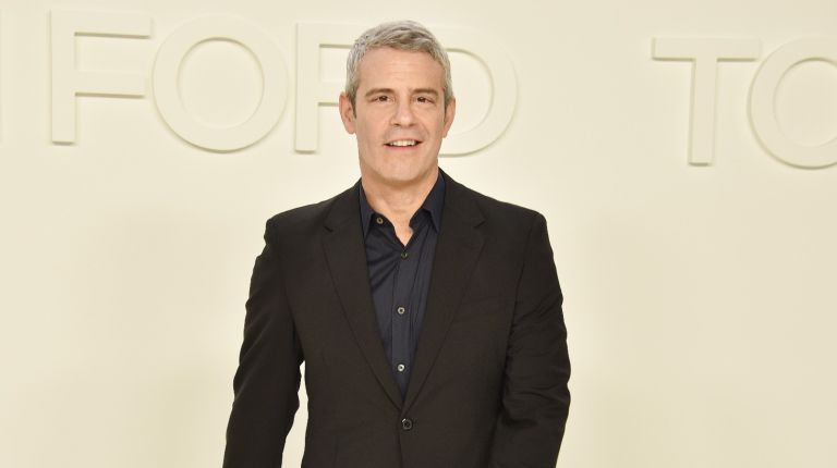 Andy Cohen attends the Tom Ford AW/20 Fashion Show at Milk Studios on February 07, 2020 in Los Angeles, California.