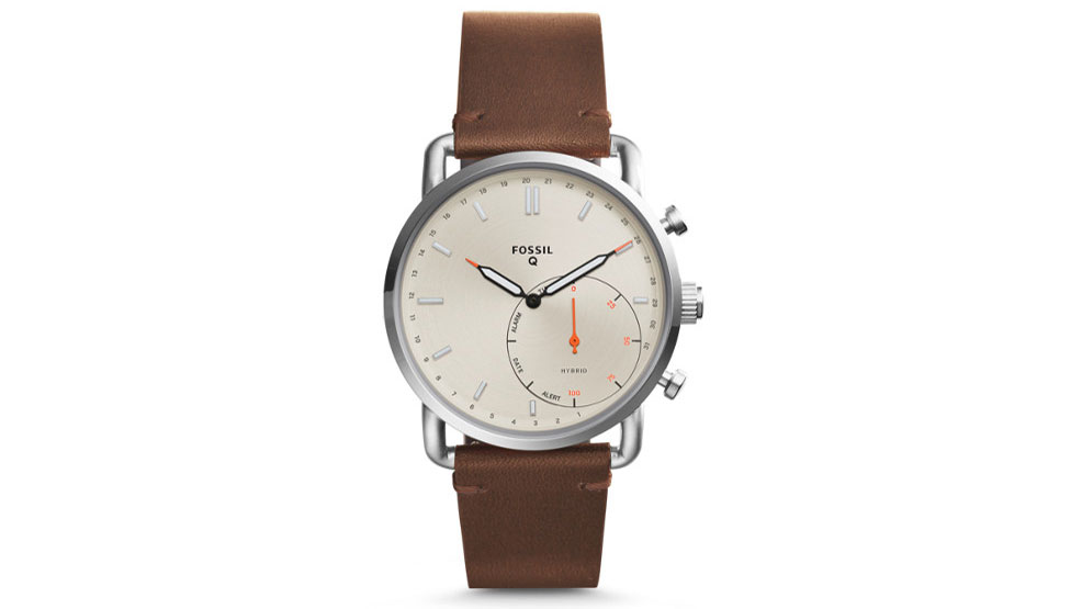 The Fossil Q Commuter is a great-looking watch with subtle smarts