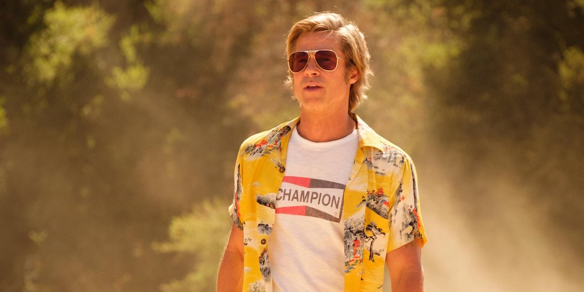 Brad Pitt as Cliff Booth in Once Upon a Time in Hollywood
