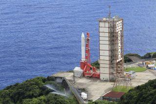 Epsilon Rocket Seaside Launch Site