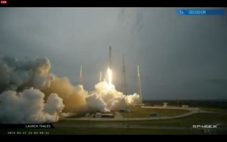 SpaceX Launches Turkmenistan's First Satellite