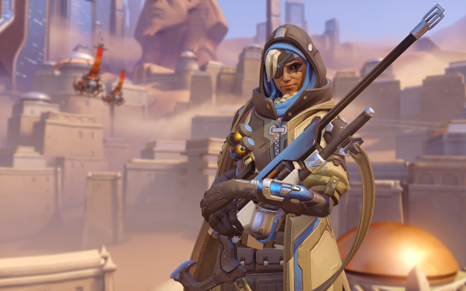 The new Overwatch hero Ana is now live [updated]