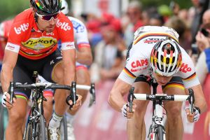 André Greipel rues crash as he comes second in Eneco Tour photo finish
