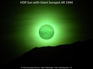 Sunspot AR 1944