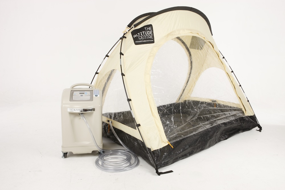 Although pictured in isolation the tent is designed to be fitted over a bed with the mattress inside. & Altitude Tent and Everest Summit Hypoxic Generator review ...