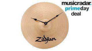 Zildjian 13-inch cymbal clock