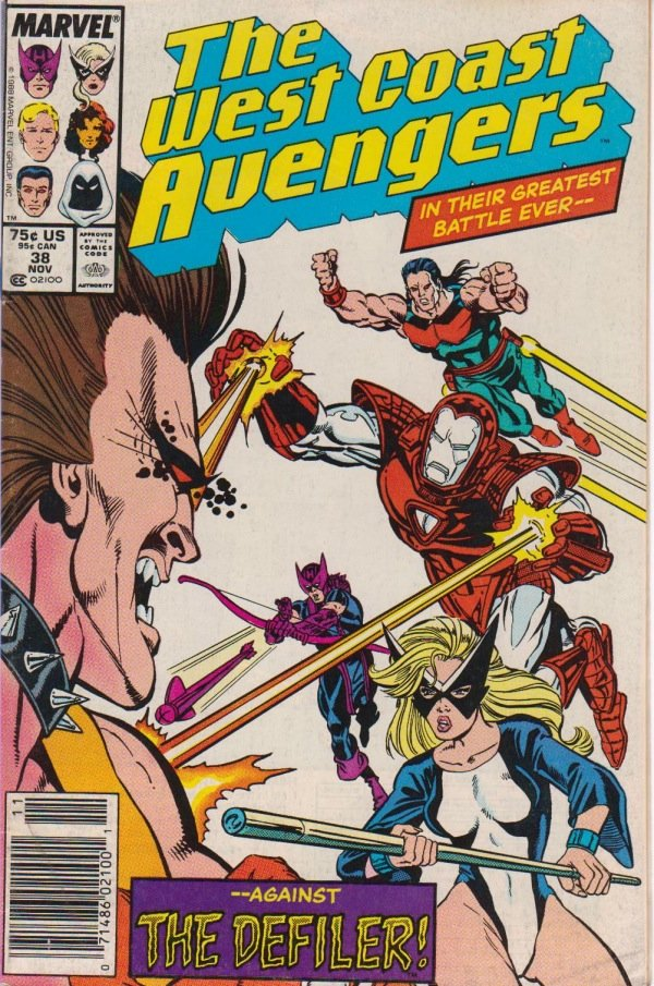 West Coast Avengers cover