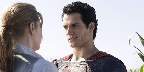 Lois and Clark in Man of Steel