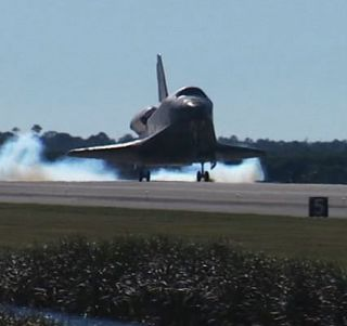 Space Shuttle Atlantis Lands Safely in Florida