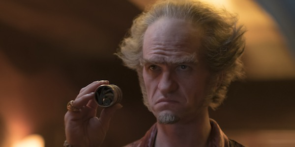 Neil Patrick Harris as Count Olaf in the Netflix series