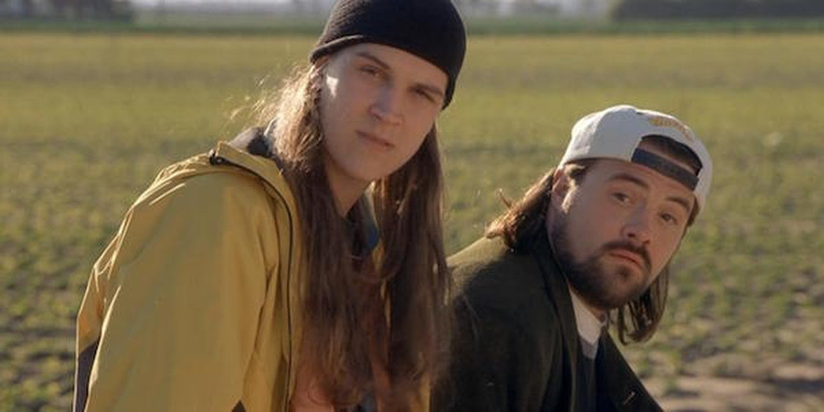 Jason Mewes and Kevin Smith in Jay and Silent Bob Strikes Back