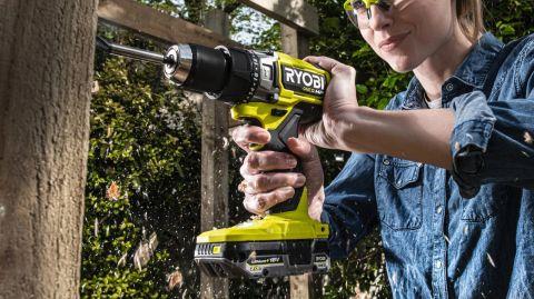 RYOBI ONE+ HP RPD18X-O cordless brushless percussion drill