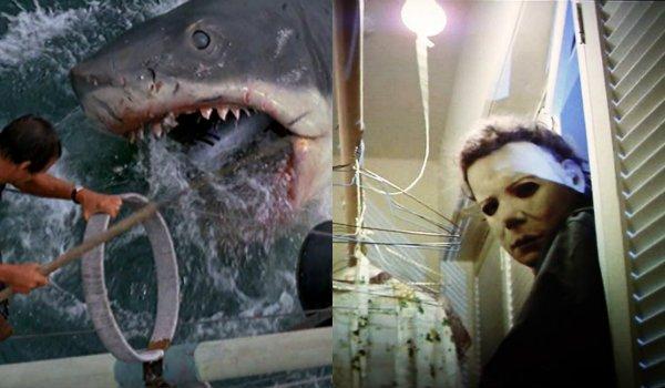 Halloween Jaws michael myers shark