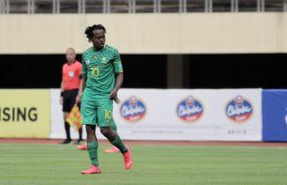 Bafana Bafana star Percy Tau