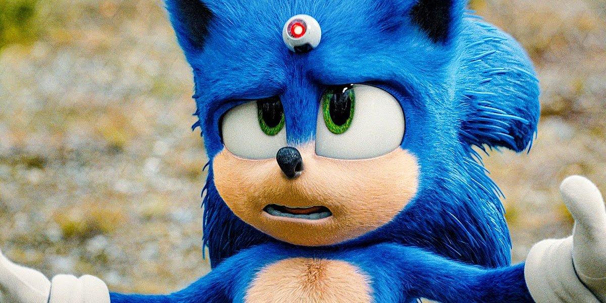 Ben Schwartz as Sonic in Sonic the Hedgehog