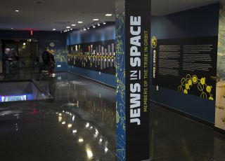 Jews in Space exhibit