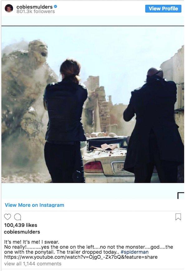 Cobie Smulders' Instagram Post