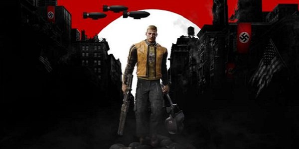 B.J. Blazkowicz gets ready to fight Nazis in Wolfenstein II.
