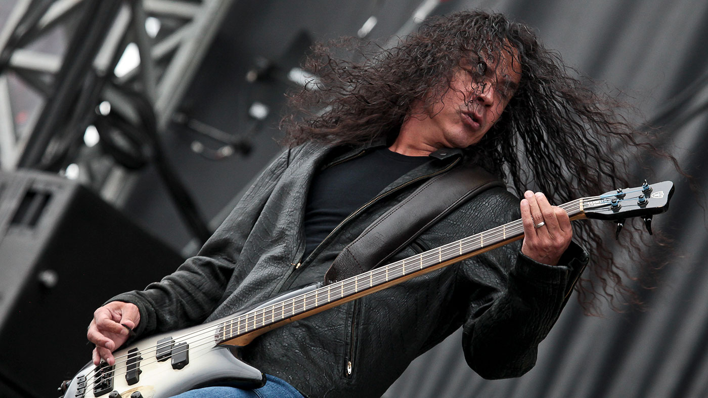 """Alice In Chains' Mike Inez: """"I think beat-up basses sound better, somehow"""""""