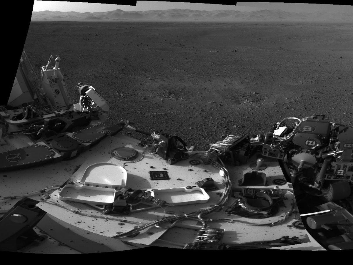 mars landing first photos - photo #24