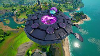 Fortnite UFOs locations