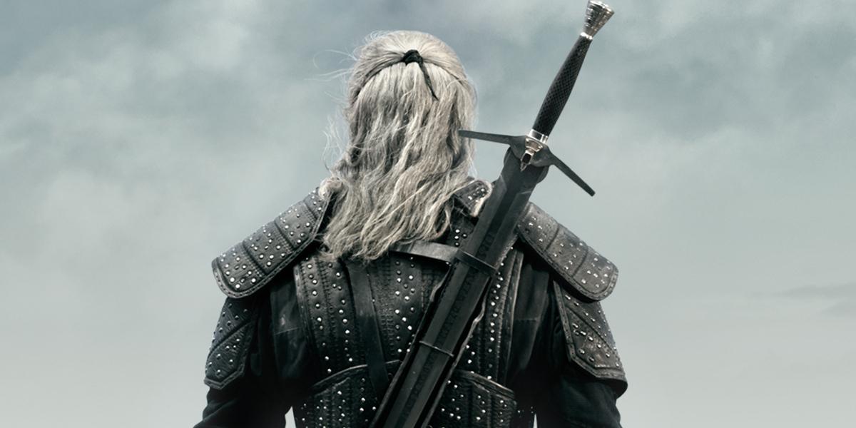 the witcher geralt back sword netflix